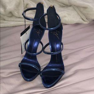 Blue Giuseppe Heels 💕